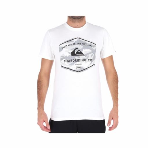 Polera Quiksilver The Og Dos White