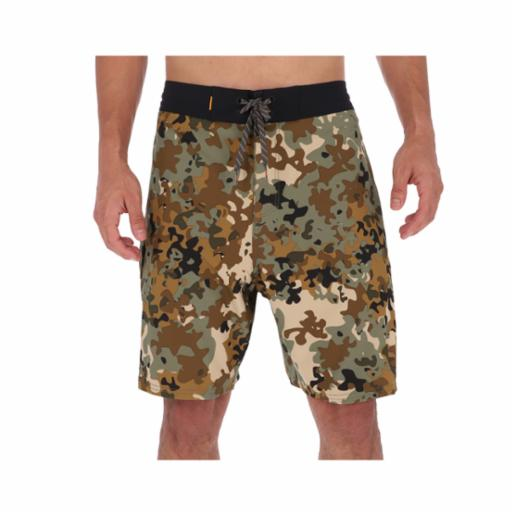 "Boardshorts Quiksilver Waterman Angler 20"" Forest Night"