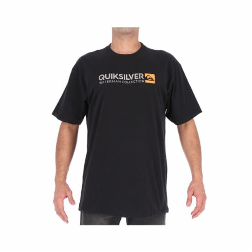 Polera Quiksilver Waterman Onsty Black