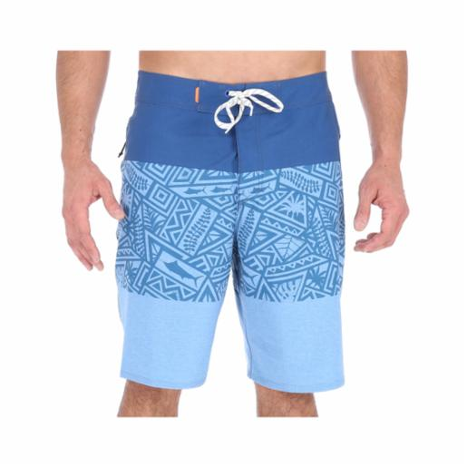 Boardshorts Quiksilver Bloque Tri Liberty Waterman Monaco Blue