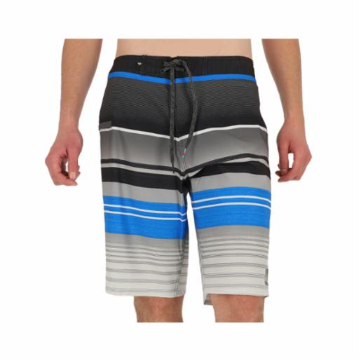 "Boardshorts Quiksilver Everyday Stripe Vee 21"" Electric Blue"
