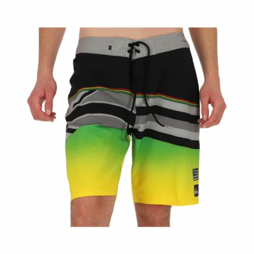 "Boardshorts Quiksilver Highline Hawaii Serious 20"" Black"
