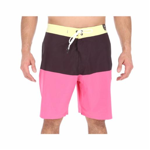 Boardshorts Quiksilver Highline Blackout Yellow Iris