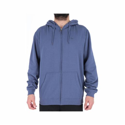 Polerón Quiksilver Everyday Zip Up Vintage Indigo