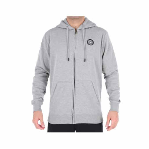 Polerón Quiksilver Stamp Log Athletic Heather